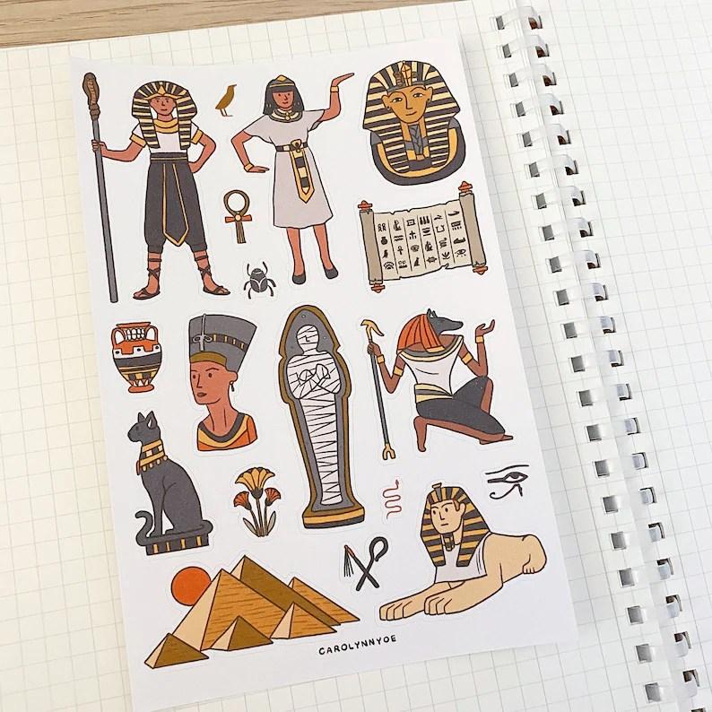 Ancient Egypt Sticker Sheet