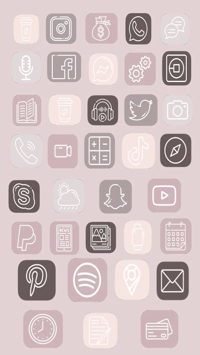 01/09/2021· read or download neutral aesthetic iphone ios14 app for free icons instant at roompics.bar Ios App Icons Neutral Light Pink Nude Aesthetic ...