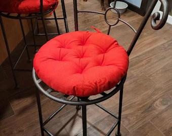 round seat cushion etsy