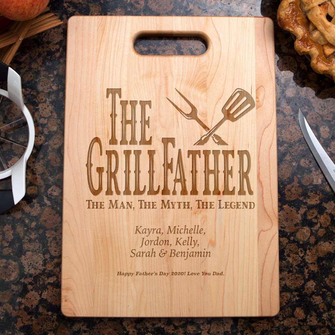 Grilling Gifts for Fathers Day Personalized Grilling Gifts image 3