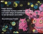 Buckminster Fuller Covid 19 Print