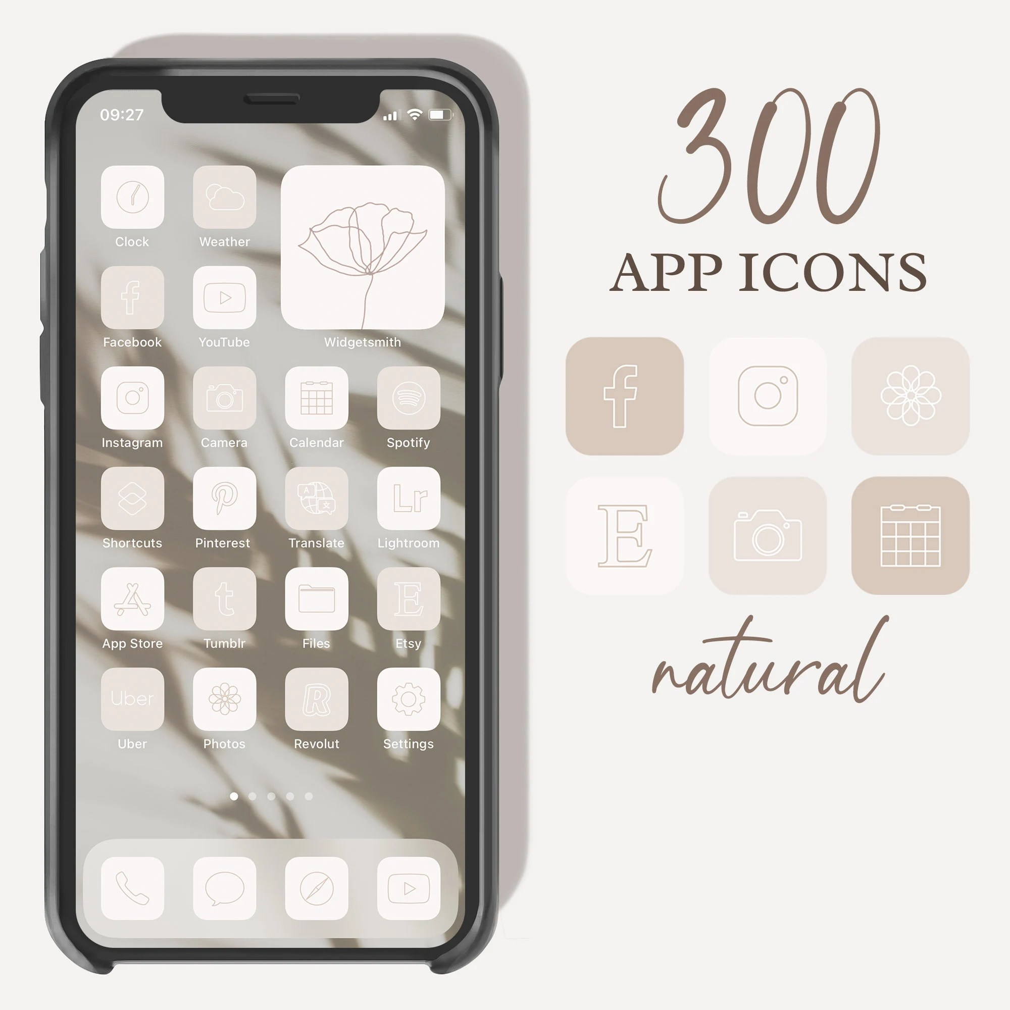 After all, there are so many options. Neutral Beige Aesthetic Boho iPhone iOS 14 App Icons ...