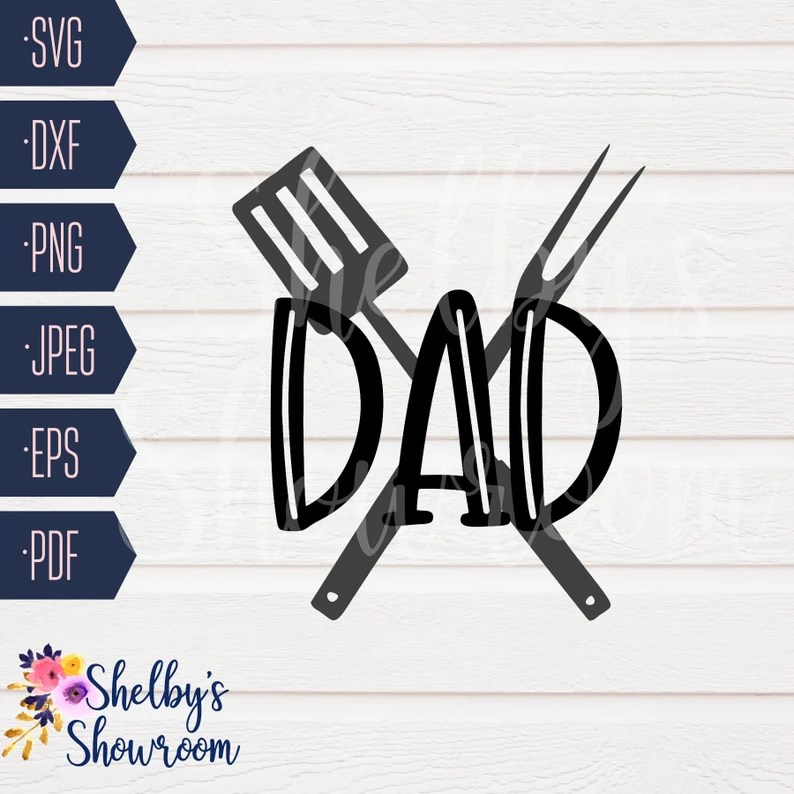 Download Grill Dad Dad You Are Flippin' Awesome SVG SVG Cut File | Etsy