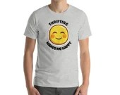 Thrifting Makes Me Happy Short-Sleeve Unisex T-Shirt