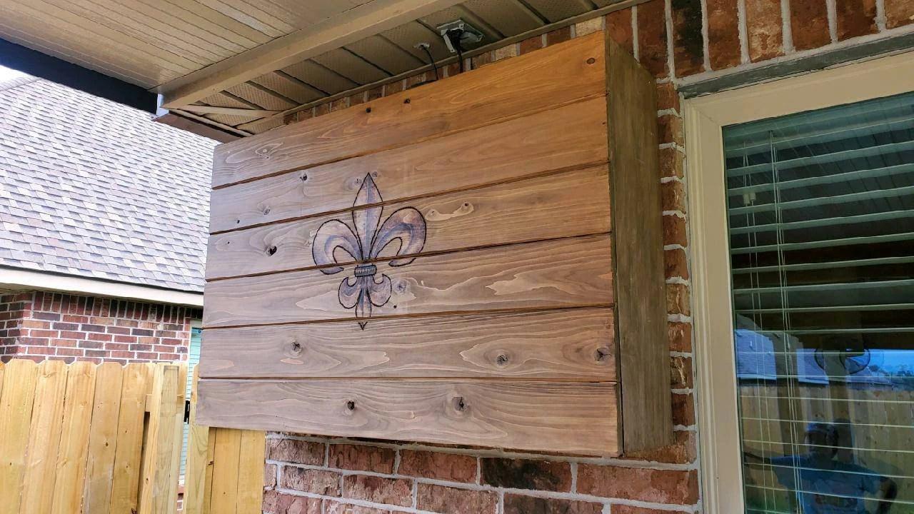 outdoor tv cabinet etsy