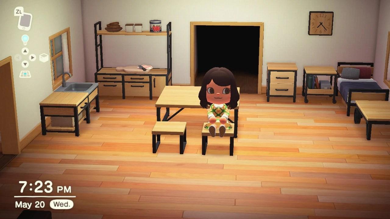 Animal Crossing New Horizons Ironwood Set READ DESC | Etsy on Ironwood Kitchenette Animal Crossing  id=42353