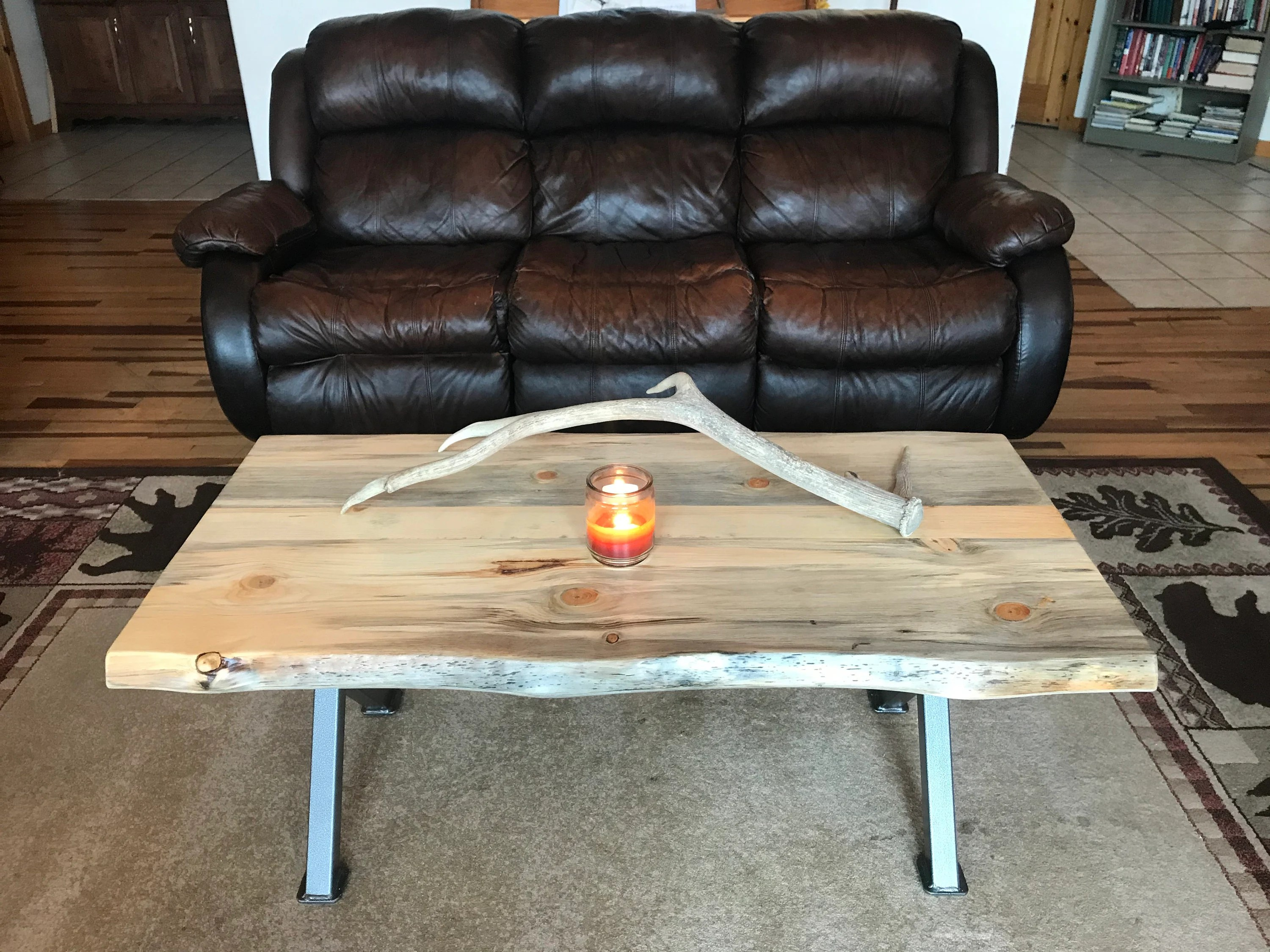 cabin coffee table etsy