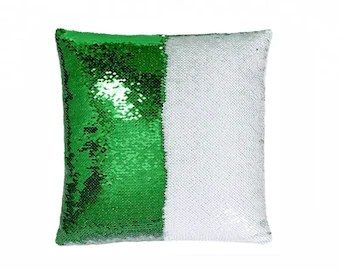blank sequin pillow etsy