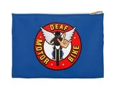 Accessory Pouch with DeafMotorbike logo