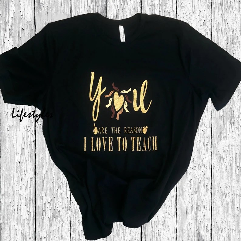 Download You are the reason I love to teach T-Shirt Multicultural ...