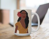 African American Woman Beauty |Feminine Woman | Coffee Mug | Hot Chocolate Mug | Tea Cup | Coffee Cup | But First Coffee | Friend Gift |