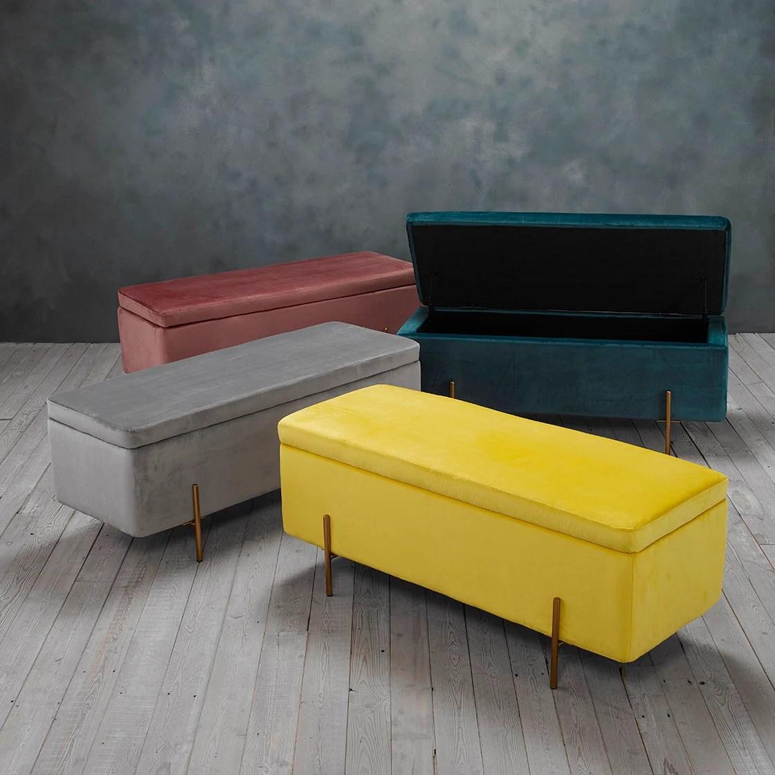 fowey storage ottoman bench