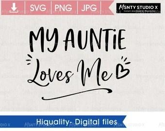 Download Aunt svg | Etsy