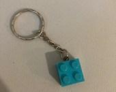 Lego brick key ring