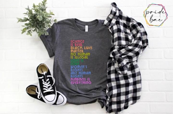 Science is Real Shirt Black Lives Matter Black Lives Matter image 0
