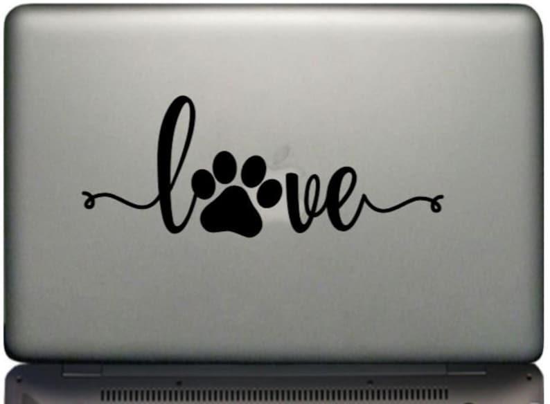 Download Cursive Love Dog Paw Print Svg Png Eps Dxf Jpg Pdf/Dog ...