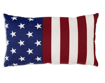outdoor flag pillow etsy