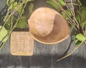 Ceramic Jewelry Bowl Tile Coaster ornament