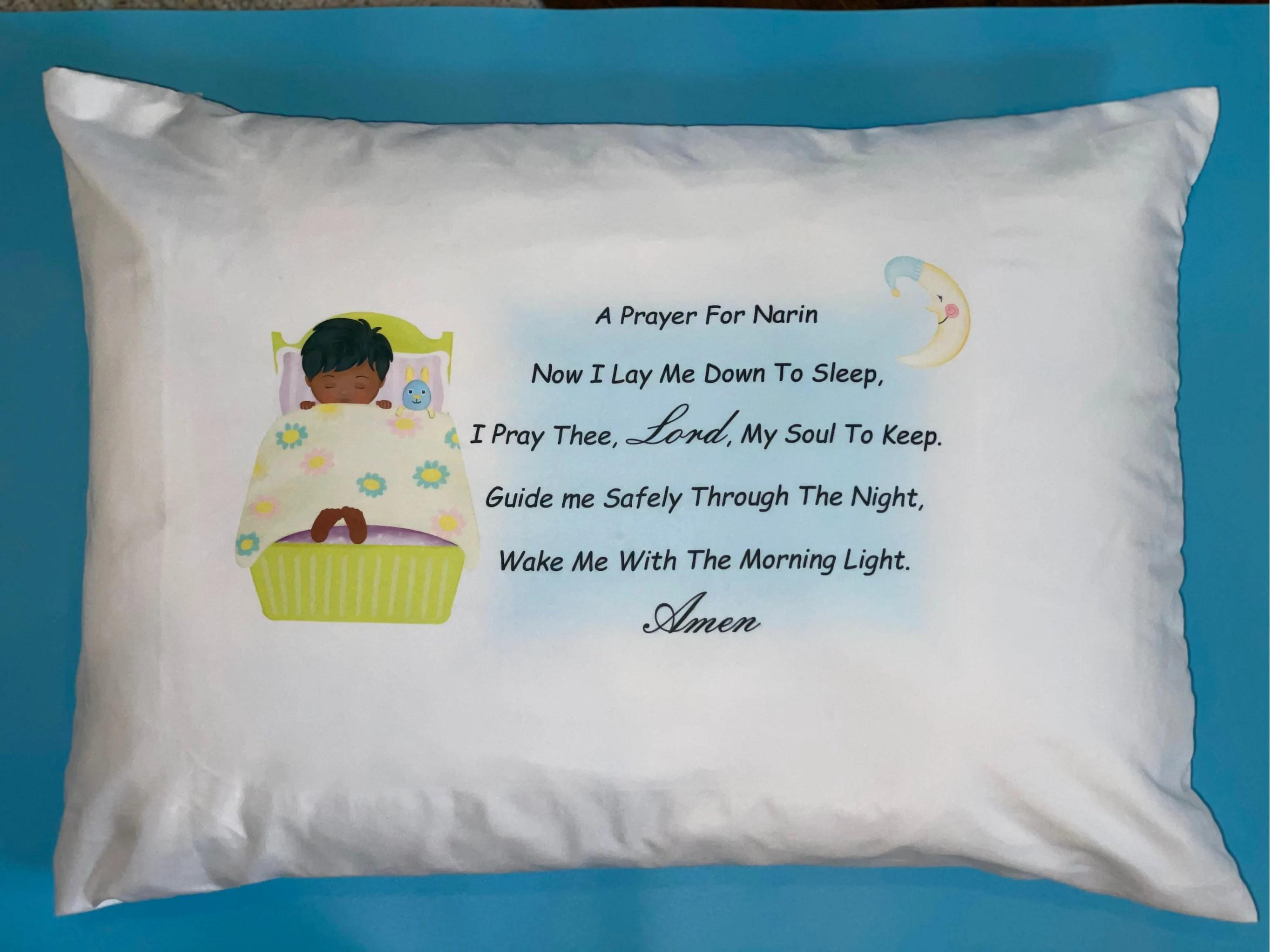 prayer pillow etsy