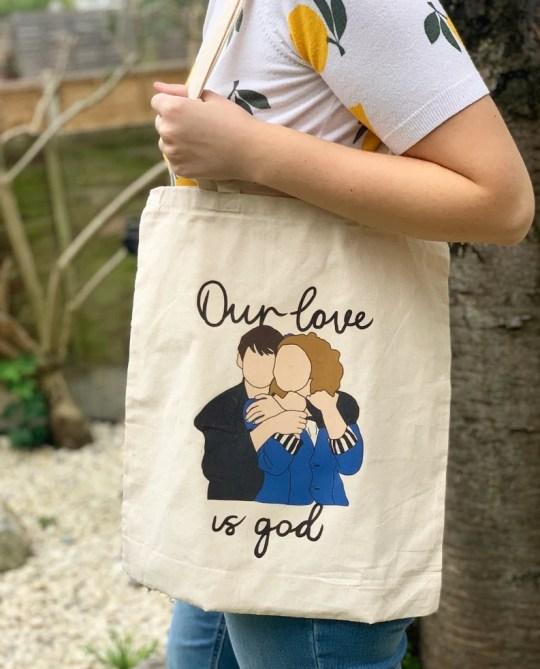 Heathers inspired Tote Bag cadeaux de noel comédie musicale