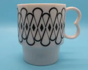 stacking coffee mug etsy