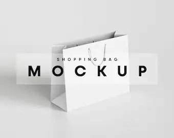 Grasp any of your favorite shopping bag mockup psd. Paper Bag Mockup Etsy