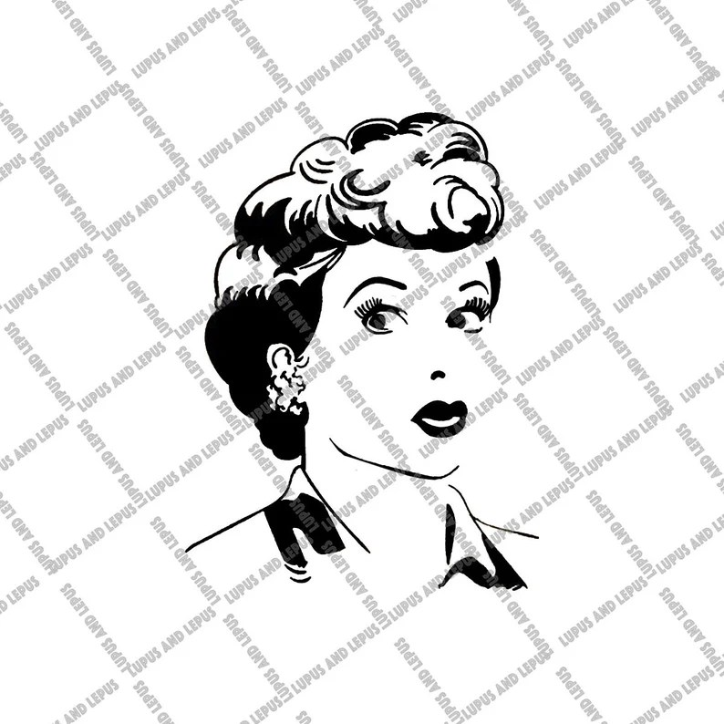 Download Digital File Lucy svg Lucille Ball I love lucy svg I love ...