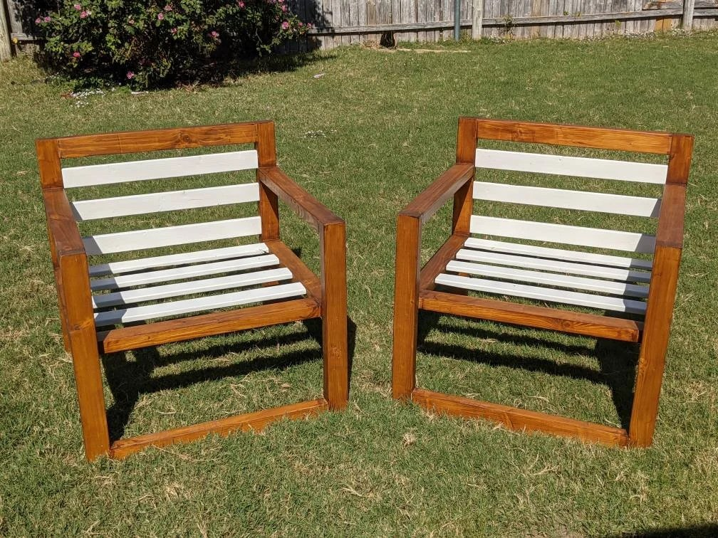large outdoor chairs etsy
