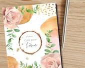 Journal café pour l'âme — Journal de gratitude/affirmations positives et planificateur quotidien à télécharger