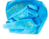 Long Silk Scarf - Silk hair scarf - Unique Silk Head scarf - Silk Scarf Women - Hand Dyed Silk Scarf