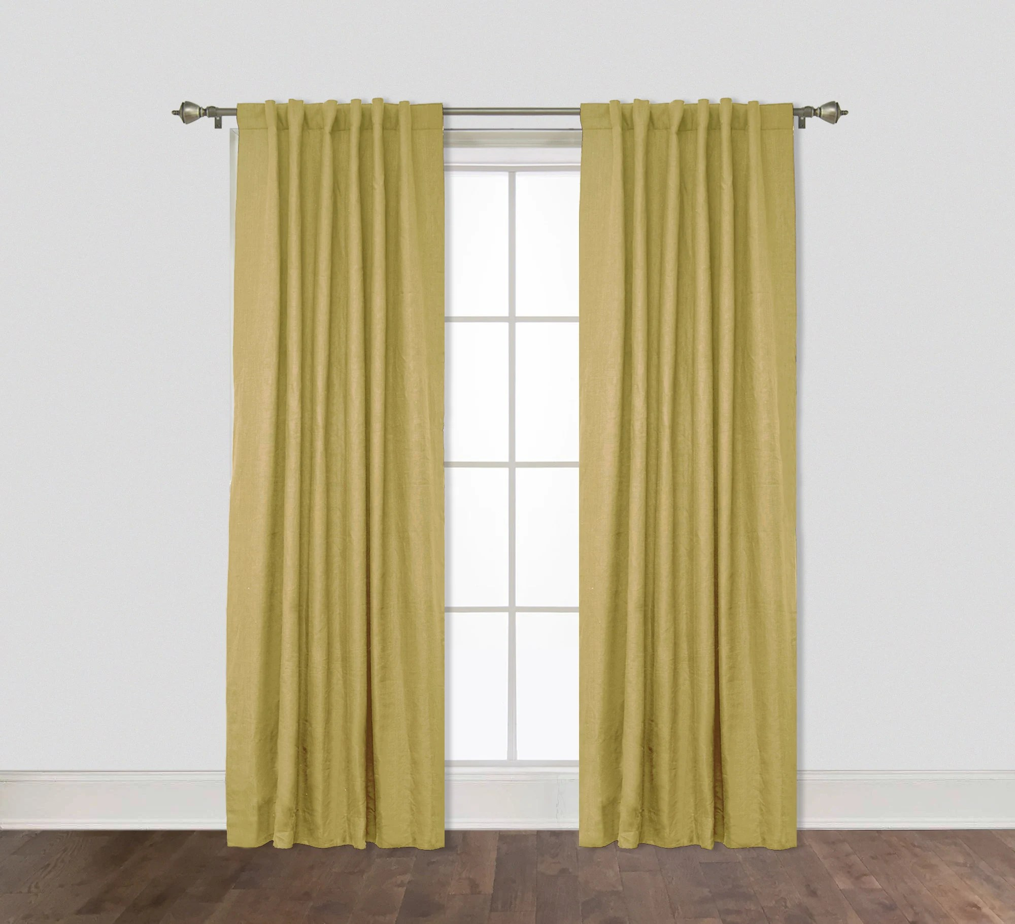 lined curtain panels etsy