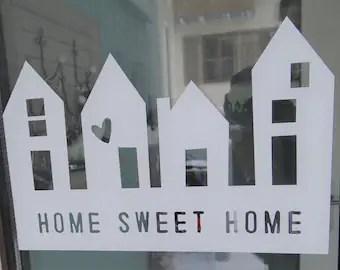 sweet home sticker etsy