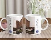 Old Paisley Series - White 11oz Ceramic Mug - Anchor Domestic Finishing Mill