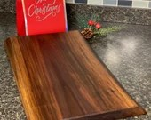 Hand Crafted Edge Grain Chopping Block Walnut