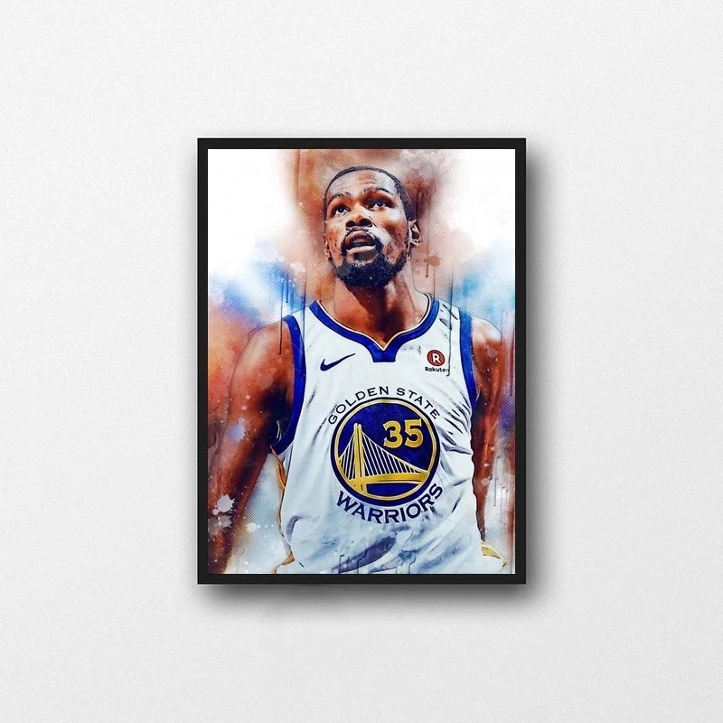 kevin durant poster etsy