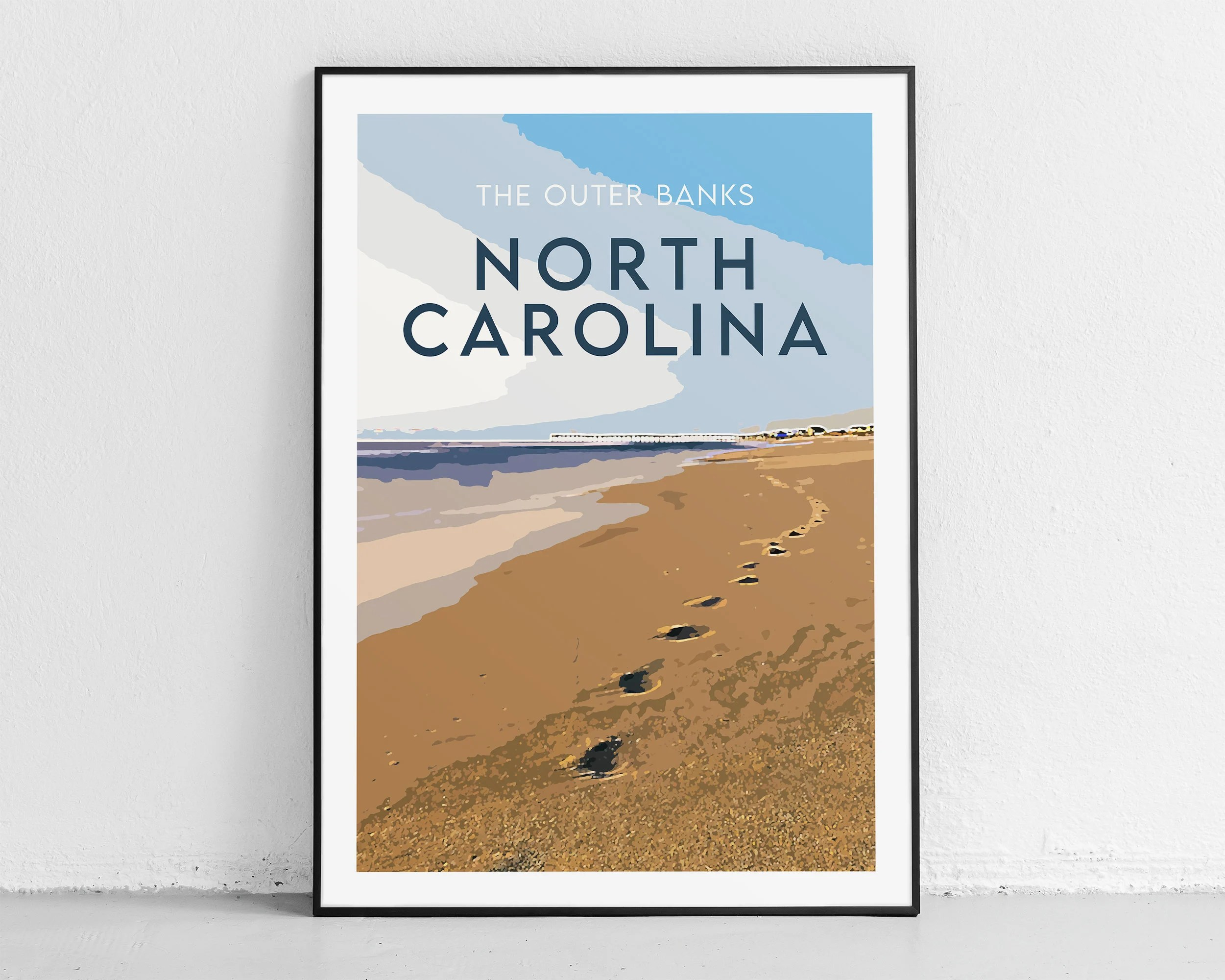 outer banks poster etsy