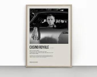 casino royale poster etsy