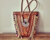 Capazo Bag - Ethnic Handicraft - Leather Bag - Boho Chic - Hippie Style