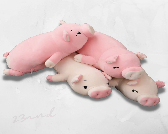 cute pig pillow etsy