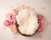 Pretty Pink Floral Baby Newborn Digital Backdrops