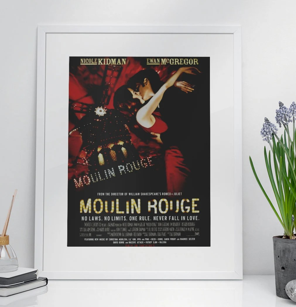 moulin rouge poster etsy