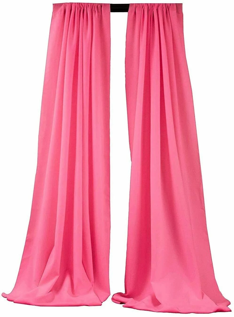 hot pink curtains etsy