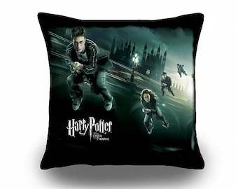 harry potter pillow etsy