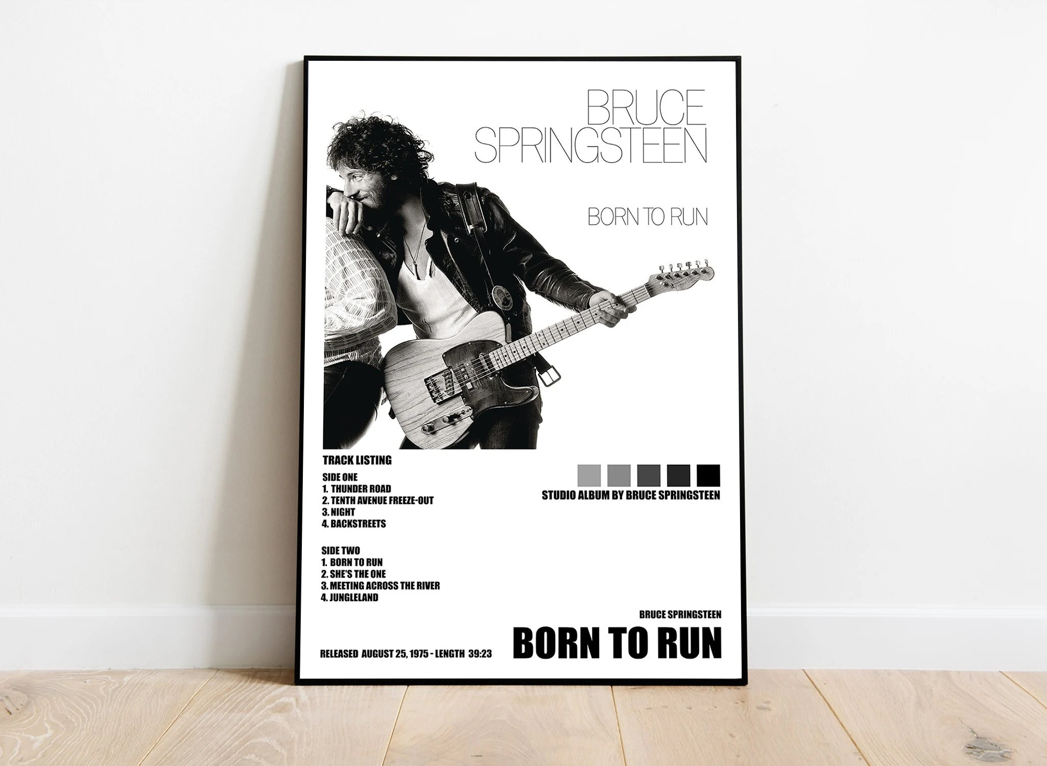 born to run posters etsy