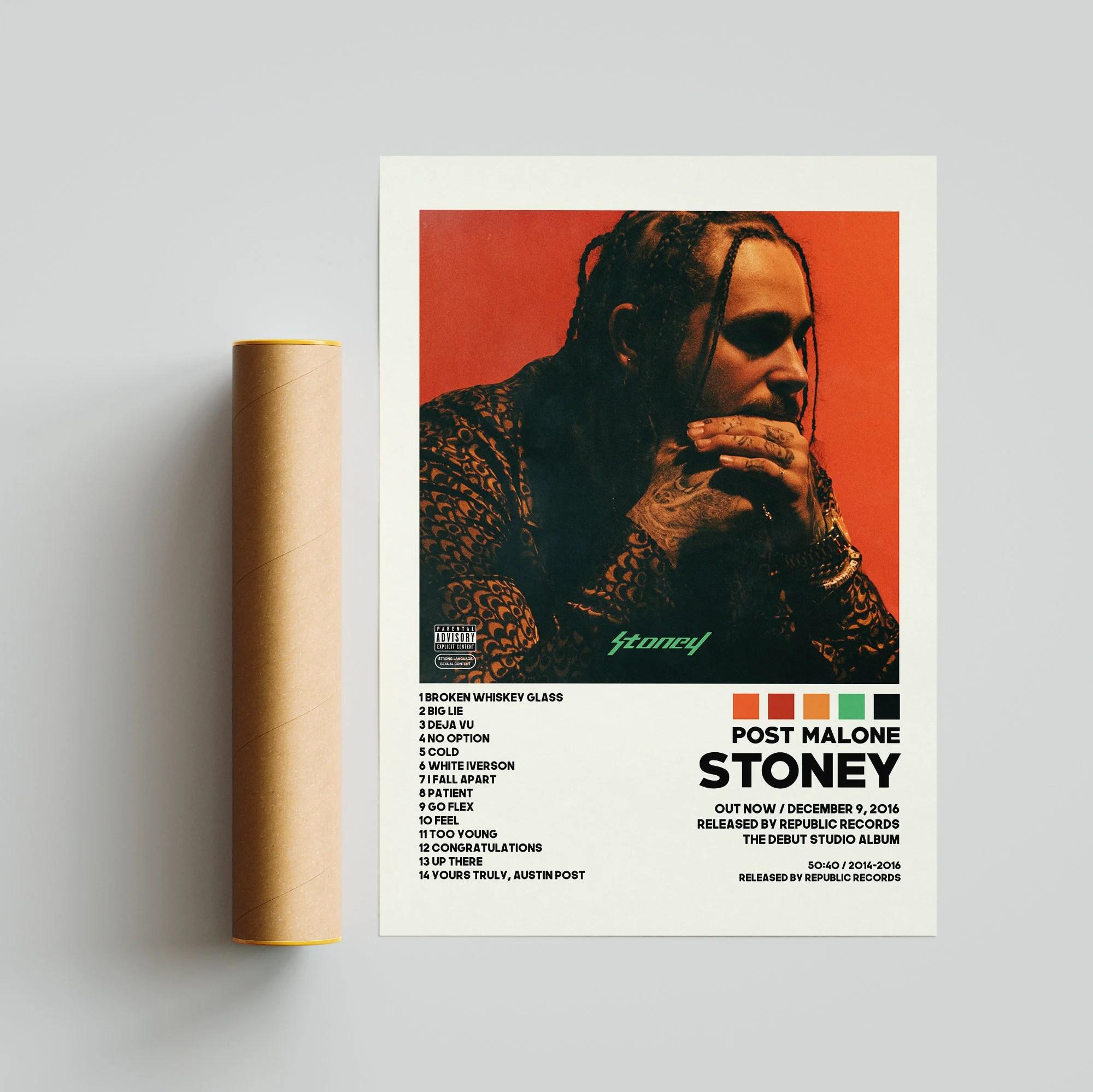 stoney poster etsy