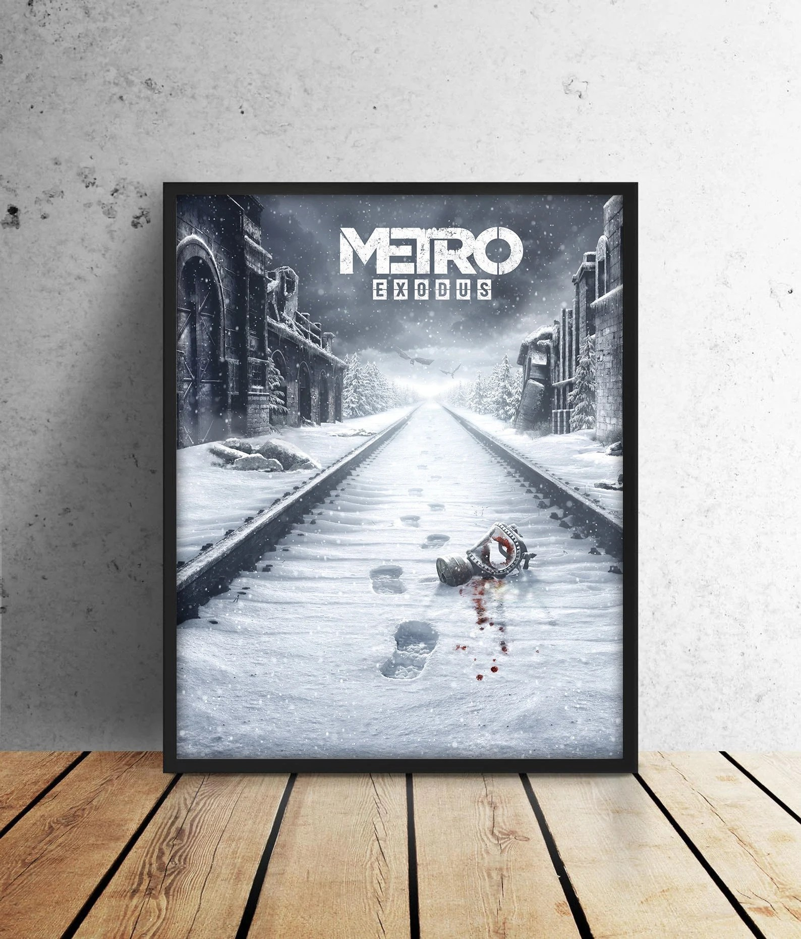 metro exodus art etsy