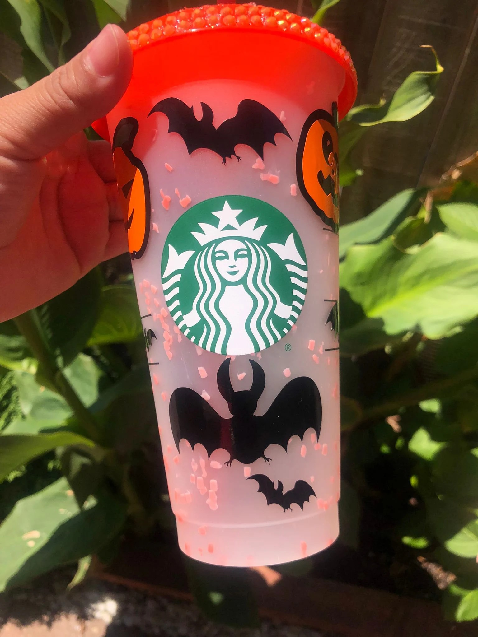 We may earn commission from links on this page, but we only recommend products. Starbucks cup personalized halloween /changin color 2021 | Etsy
