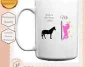 Other 50 Year Olds, Me Unicorn Mug - Milestone birthday mug - Age Gift - 50 Year Old Gift - Gifts For 50 Year Old - Gift for Unicorn Lover