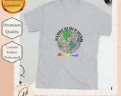 Be Kind - Pride Apparel- Globe and rainbow colors Short -Sleeve Unisex T-Shirt