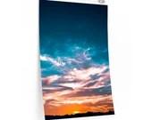 Sunset Sky  Premium Matte vertical posters